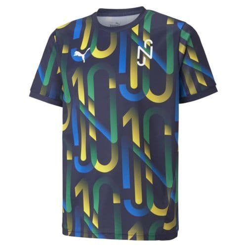 Puma Neymar NJR Hero Football Jersey Kids Junior Tee Shirt