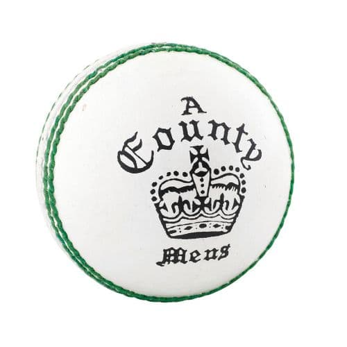 Readers County Crown Cricket Ball Youths White