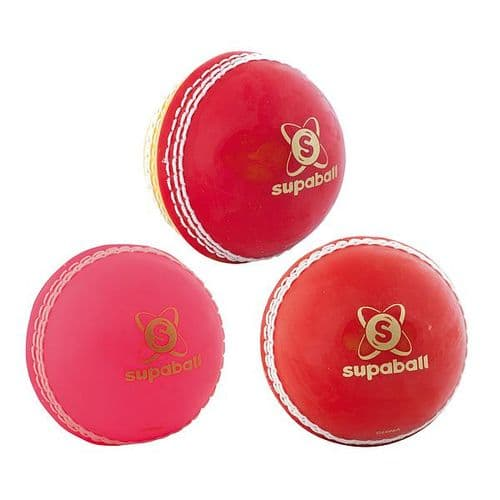 Readers Supaball Training Cricket Ball Youths Red/Yellow