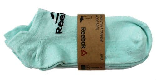 Reebok Crossfit Training Sports Inside Socks Blue 3 Pair Pack