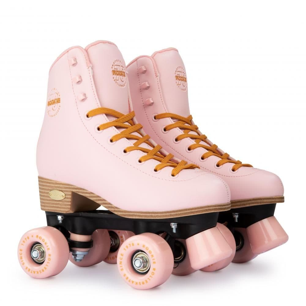 Rookie Classic 78 Quads Kids & Adults Rollerskates Pink Boots