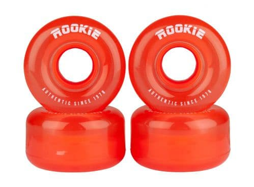 Rookie Disco 4 Pack Roller Skate Wheels Set (Without Bearings)