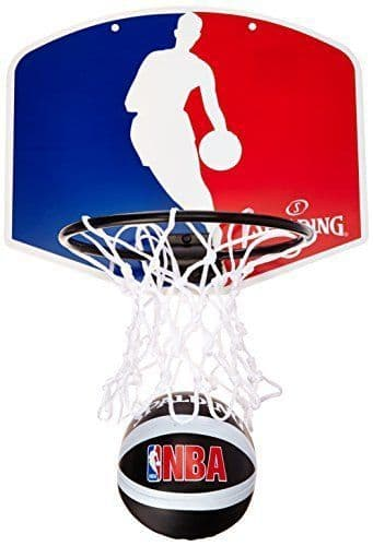 Spalding NBA Teams Portable Mini Basketball Set