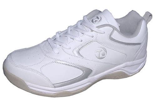 Taylor Apollo Womens Bowling Trainer Shoes - White