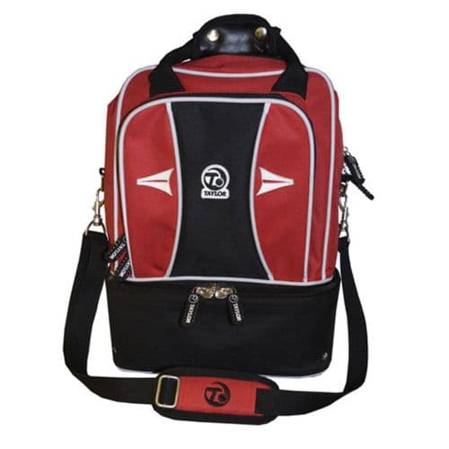 Taylor Double Decker 2 Bowl Sports Bag Red