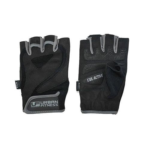 Urban Fitness Pro Gel Training Glove Large Black/Grey