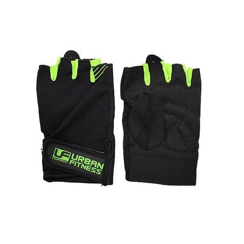 Urban Fitness Training Glove Small Black/Green