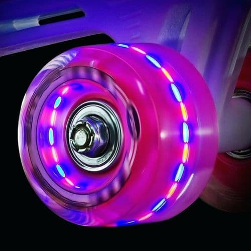 Ventro Lightup Flashing Wheels Kit ( Set of 8)