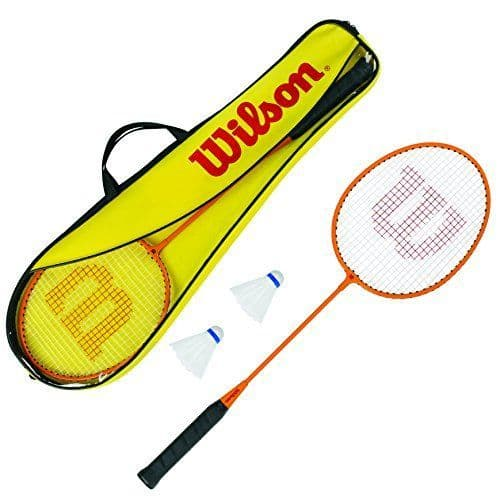 Wilson 2 Player Badminton Gear Set(Inc 2 Rackets and 2 Shuttles)
