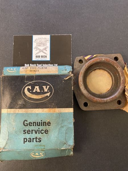 BEARING END PLATE 7118-11