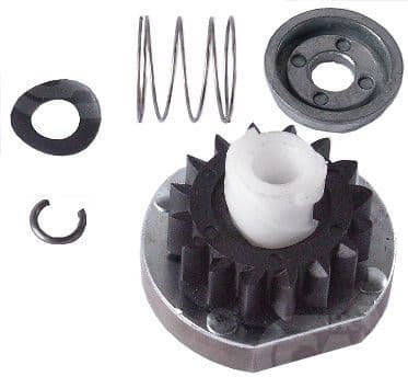 BRIGGS AND STRATTON STARTER MOTOR DRIVE PINION TEETH KIT 497606 CARGO 230400
