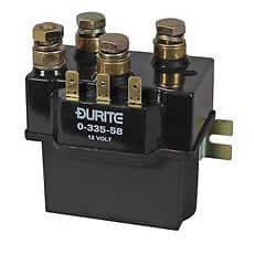 Durite 12V Heavy Duty Winch Solenoid Albright Replacement 0-335-58