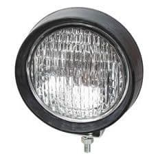 Small Black Rubber Work Lamp 0-425-01