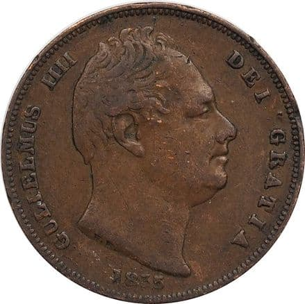 1830-1837 William IV Farthing