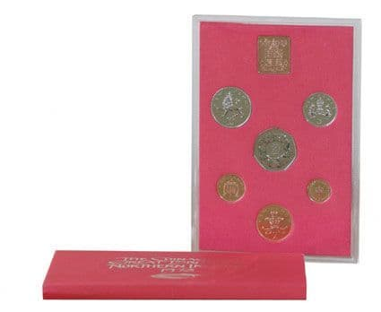 1973 Official Royal Mint Proof Set