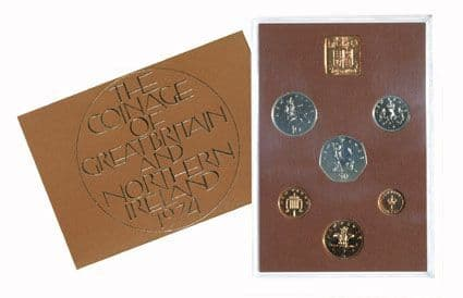 1974 Official Royal Mint Proof Set