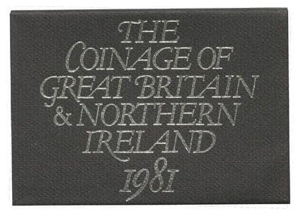 1981 Official Royal Mint Proof Set