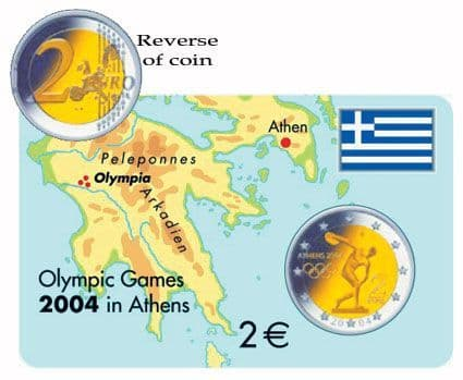 2004 2 Euro Greek Olympic coin