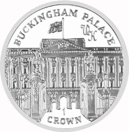 2010 Prince William and Kate Commemorative Crown