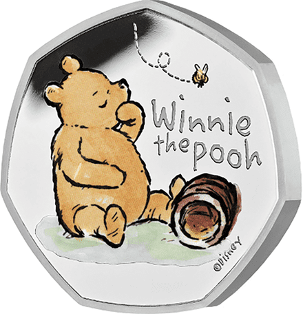 2020 Winnie The Pooh Silver Proof 50p