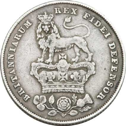 George IV Silver Sixpence 1820-30