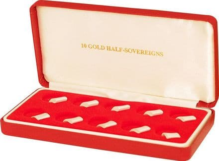 Half Sovereign Box to hold 10 coins