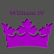 King William IV 1830 -1837