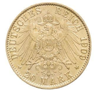 Prussia 20 Marks