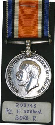 Silver and Victory Medals for W.W.I