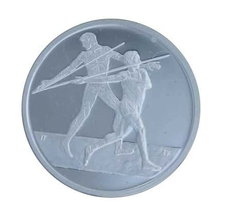 Silver Proof Coin 2004 Greek Olympics - Javelin