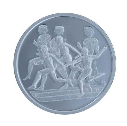 Silver Proof Coin 2004 Greek Olympics - Relay