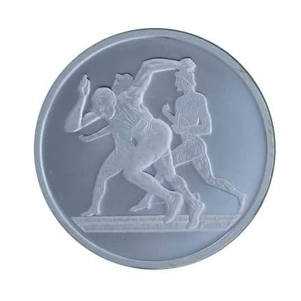 Silver Proof Coin 2004 Greek Olympics - Runners