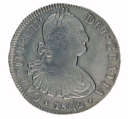 The Famous Mexican Eight Reales 1772-1825