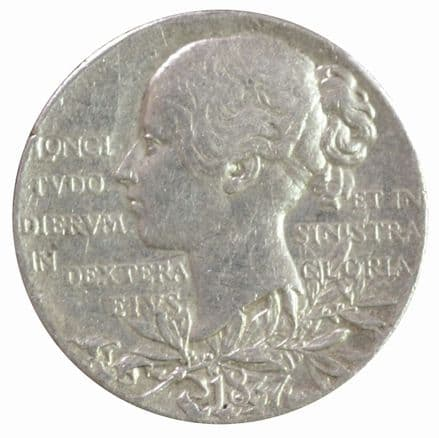 Victoria Diamond Jubilee Silver Medallion 1897 Small