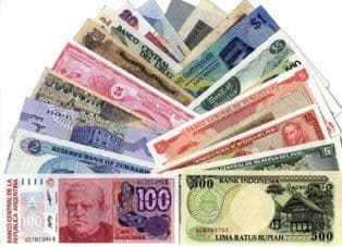 World Banknote Collection in Unc condition