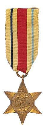 World War II Africa Star Medal
