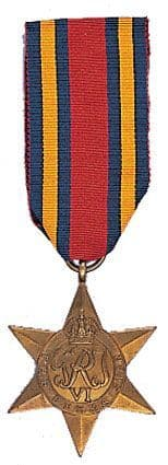 World War II Burma Star