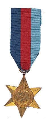 World War II Star Medal 1939-1945