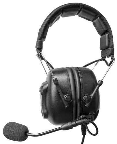 Headset with boom microphone and Hi Rose