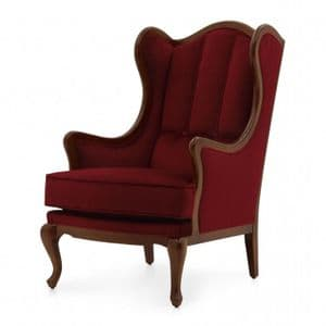 Ala Bespoke Upholstered Wing Back Chair MS9194P Custom Made-To-Order