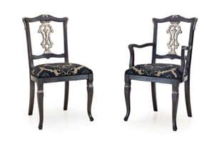 Antico French Bespoke Upholstered Dining Chairs MS0174 Custom Made-To-Order