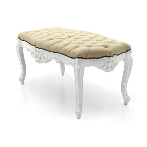 Barocco Bespoke Upholstered Bench Seat MS00TA84B Custom Made-To-Order