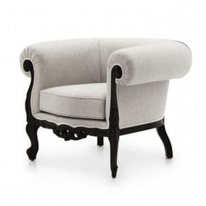 Barocco Bespoke Upholstered Chesterfield Armchair MS9100P Custom Made-To-Order
