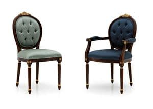 Casa Savoia Bespoke Upholstered Dining Chairs MS0652 Custom Made-To-Order