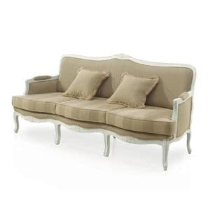 Chalet French Country Three Seater Sofa MS9144E Made-To-Order