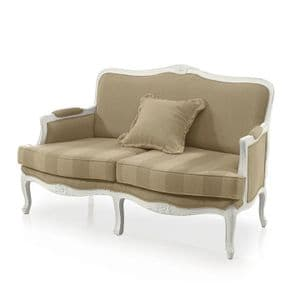 Chalet French Country Two Seater Sofa MS9144D Made-To-Order