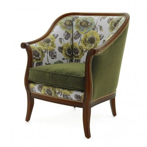 Compatto Bespoke Upholstered Armchair MS9173P Custom Made-To-Order