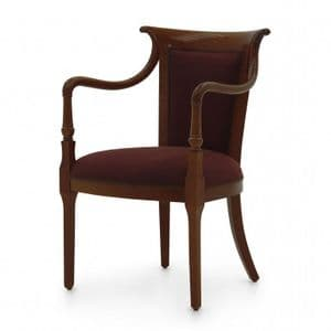 Corridoio French Bespoke Upholstered Armchair MS0151P Custom Made-To-Order