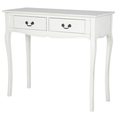 Couronne White Painted French Console Table MP76-295-EW