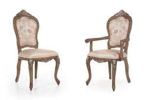 Deauville Bespoke Upholstered Louis XVI Dining Chairs MS0115 Custom Made-To-Order